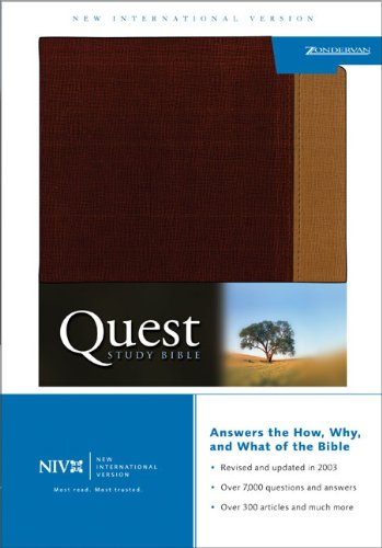 Quest Study Bible, Personal Size (New International Version) pdf