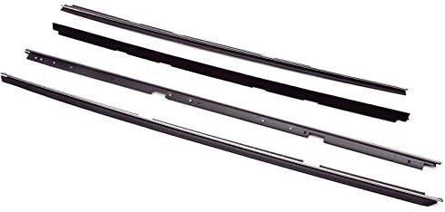 Door /& Roof Rail Weatherstrip Rubber Seals Kit Set for 78-87 Caballero El Camino