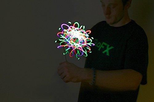 GloFX Premier 4-LED Orbit: 7-Color Fantasy Orbital Spectrum