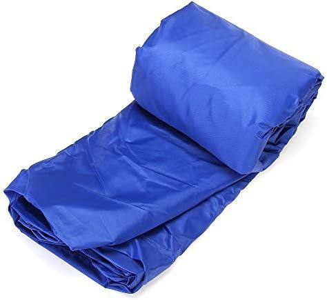 ガーデン家具カバー Trailerable釣りランナバウト防水11.5' - 14.8' ヘビーデューティオープンボートカバー 屋外での使用に適しています (Color : Blue, Size : 4)