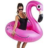 Big Mouth Inc. BMPF-PF Gonfiabile Flamingo, 122 x 120 x 108 cm, Rosa