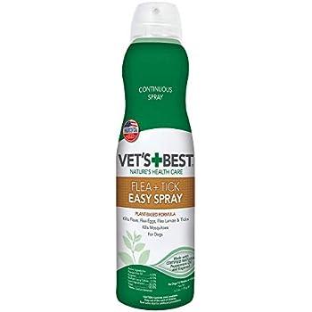 Amazon Com Vets Best Flea Tick Spray Flea Treatment
