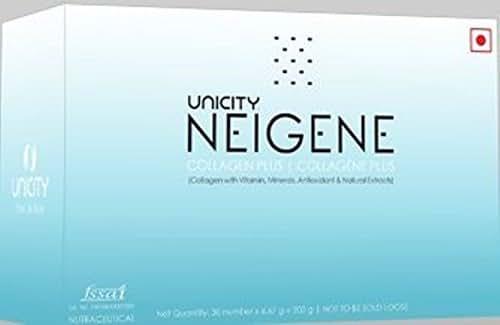 UNICITY NEIGENE COLLAGEN PLUS 30 SACHETS (Pack of 3)