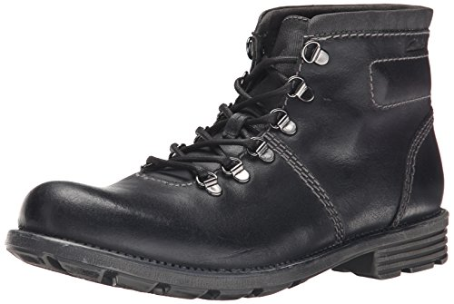 Clarks Darian Heath Boot Cuero negro