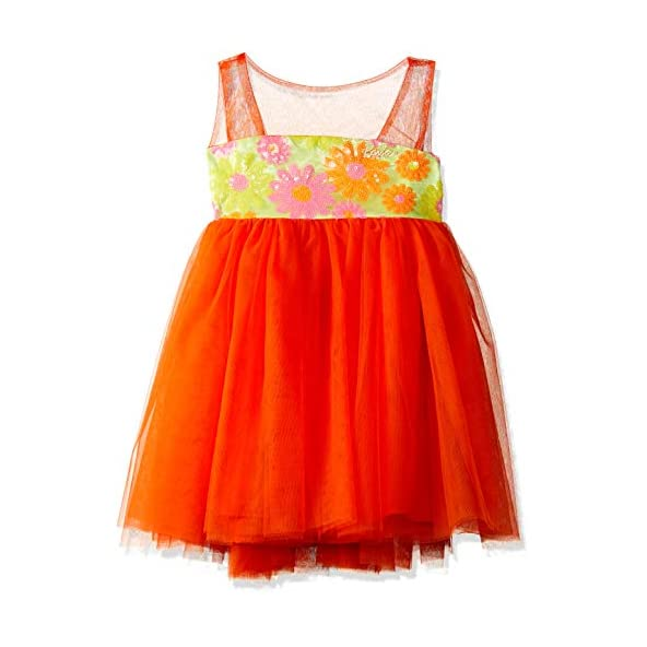 Barbie by Many Frocks & Baby Girls' Knee-Long Dress
