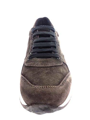 FRAU UOMO LACCI SCARPA TIPO HOGAN - Zapatos de cordones de Piel para hombre Negro negro 41 lwNUXbh