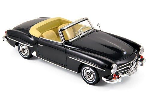 ノレブ 1/18 メルセデス ベンツ 190SL 1957 ブラック 完成品の商品画像