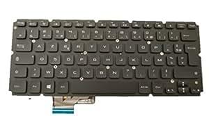 DELL V4KTD Keyboard refacción para notebook - Componente para ordenador portátil (Teclado, DELL, Negro, XPS L421X, L521X, Francés)