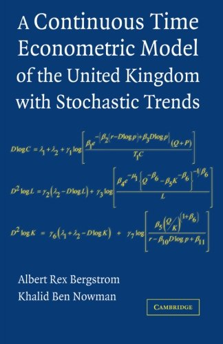 Download A Continuous Time Econometric Model of the United Kingdom with Stochastic Trends PDF