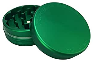 Space Case Grinder 2 Piece Small Matte Green