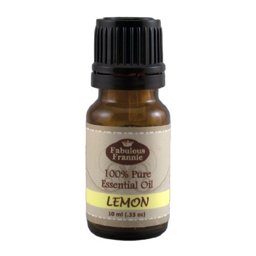 Lemon 100% Pure, Undiluted Essential Oil Therapeutic Grade - 10 ml. Great for Aromatherapy!