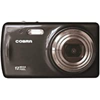 Cobra Digital DCA1250-BLACK Digital Camera with 8 x Optical Zoom and 2.7-Inch LCD Screen (Black)