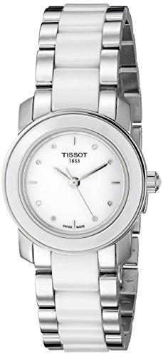 Tissot Women's T064.210.22.016.00 White Dial T Trend Watch