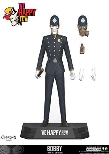 McFarlane Toys We Happy Few The Bobby 7-Inch Action Figure ()