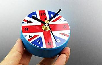 Kühlschrank Uhr Magnetisch : Amazon wanduhr d britische flagge kühlschrankmagnete uhr