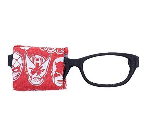 Eye Patch kids glasses - MARVEL SUPERHERO - baby child adult eye patch - Vision Lazy eye therapy patch