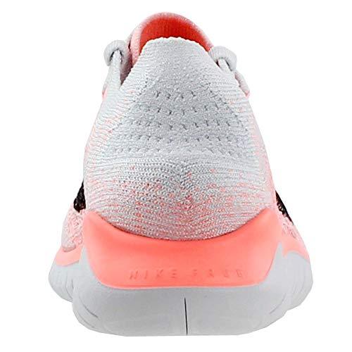 Nike Women's Free Rn Flyknit 2018 Crimson Pulse/Black Ankle-High Running Shoe - 5.5M by Nike (Image #2)