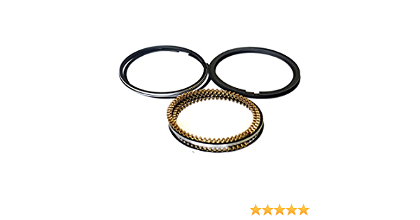 Oversize 0.50mm = 0.020 Evergreen RS4012.50 Fits 90-97 2.2 Honda Accord Prelude F22A F22B Engine Piston Ring Set