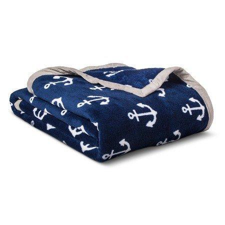 Circo New Anchors Plush Blanket Full/Queen by Circo