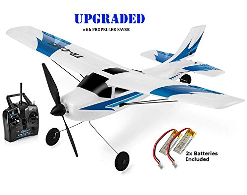 Top Race Rc Plane 3 Channel Remote Control Airplane Ready to Fly Rc Planes for Adults, Easy  Ready to Fly, Great Gift Toy for Adults or Advanced Kids, Upgraded with Propeller Saver (TR-C285G) in USA