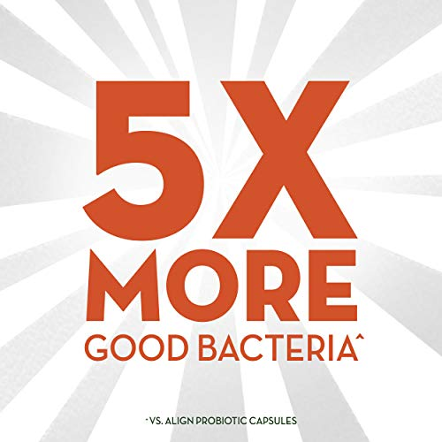 Align Probiotic Extra Strength, #1 Doctor Recommended Brand, 5X more good bacteria to Help support a healthy digestive…