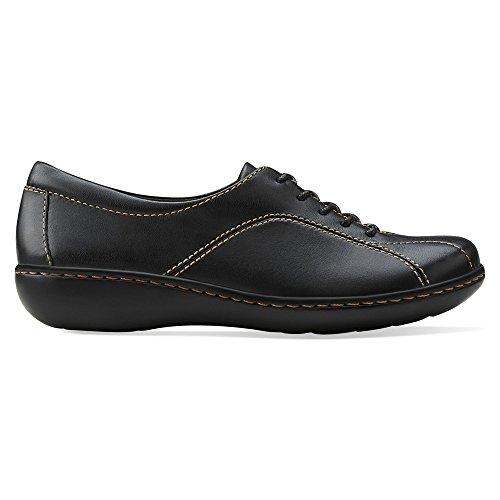 Chaussures cuir noir Oxford Ashland en Pearl Clarks XwXAqPr