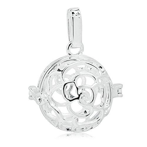 1pc 25*24mm cage pendants Pregnancy Ball cage Filigree Cage, ()