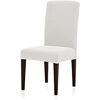 Pleasing Subrtex Jacquard Dining Room Chair Slipcovers Sets Stretch Furniture Protector Covers For Armchair Removable Washable Elastic Parsons Seat Case For Andrewgaddart Wooden Chair Designs For Living Room Andrewgaddartcom