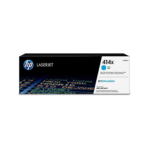 HP 414X (W2021X) Cyan High Yield Original Toner Cartridge