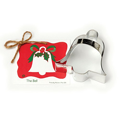 Bell Cookie and Fondant Cutter - Ann Clark - 3.9 Inches - US Tin Plated Steel ()