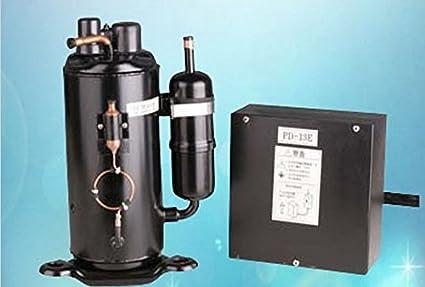 GOWE partes de refrigeración R404 A refrigeración vertical hermética compresor
