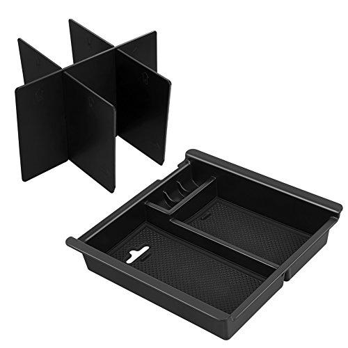 Modokit Center Console Insert Organizer Tray with Organized Console Device for Toyota Tacoma(2016-2018) Center Console Organizer Vehicles Armrest Box Storage Organizer