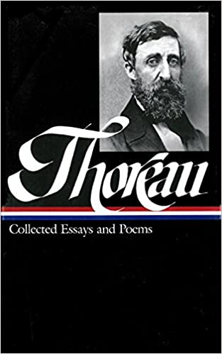 henry david thoreau collected essays and poems library of  henry david thoreau collected essays and poems library of america henry david thoreau elizabeth hall erell 9781883011956 com books