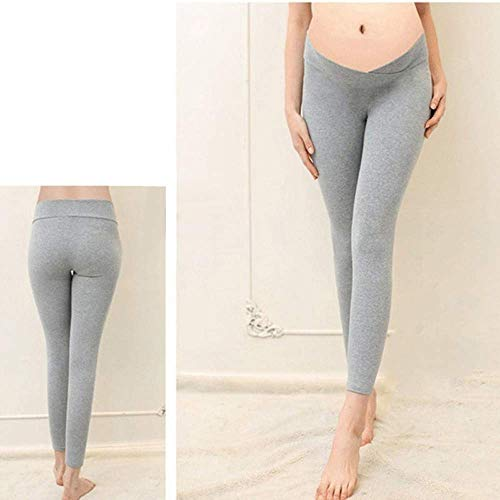 Fashion Pantaloni Ragazza I Vestiti Di Grigio Elasticizzati Chic Gravidanza Hx Leggings Maternità Per TfXwdfqP