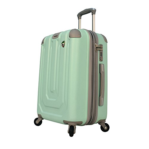 mia-toro-luggage-pastello-composite-hardside-spinner-carry-on-green-one-size