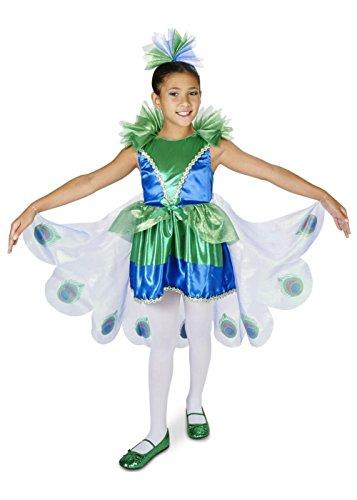 Little Girls' Peacock Costume