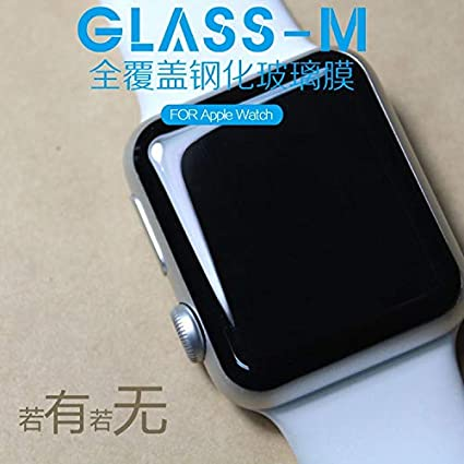 BATOP Apple Watch Screen Protector || 3D Curved Full Coverage Tempered Glass Protective Film for