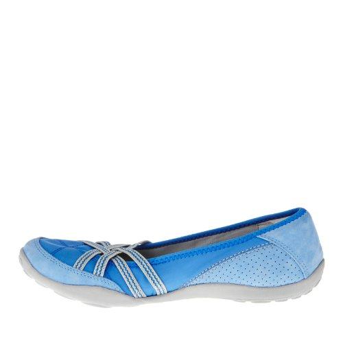 Clarks Womens Haley Toucan Flat Blue