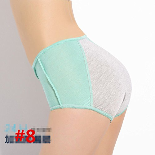 [SEVE Womens Menstruation Leakproof Panties Shorts Knickers Briefs Lingerie Underwear,#8 Low waist Light] (Female Secret Agent Costumes)