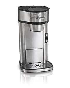Hamilton Beach (49981A) Single Serve Coffee Maker, Stainless Steel