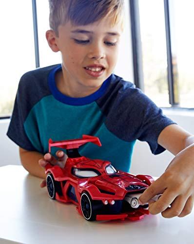 Marvel Hot Wheels Spider-Man Web-Car Launcher [Amazon Exclusive]