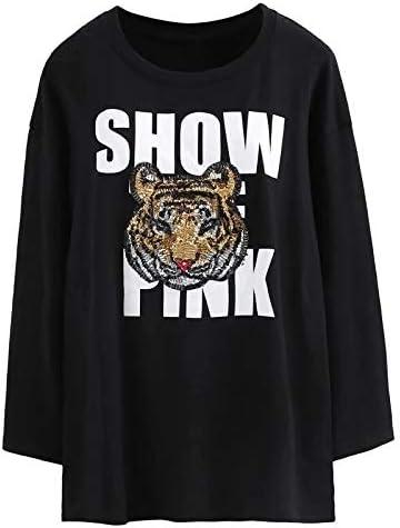 Parches con lentejuelas para la cabeza de tigre bordados de tela para prendas de vestir, para coser en manualidades ...