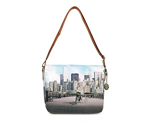 Borsa Y Not tracolla New York big apple - J358 Tweet