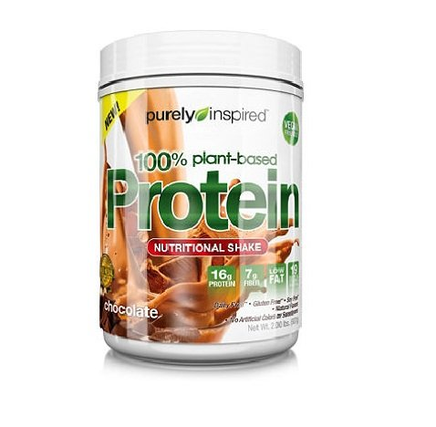 Purely Inspired Plant Based Protein. 2lbs. Gluten Free, No Artficial Sweeteners