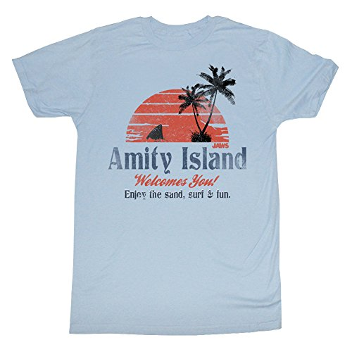 jaws-amity-island-welcomes-you-adult-t-shirt-tee