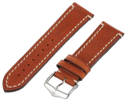 Hirsch 109002-70-24 24 -mm  Genuine Calfskin Watch Strap