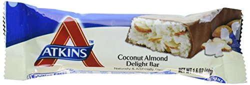 Atkins Advantage Bar Coconut Almond Delight 1.6oz Bars (5-pack)
