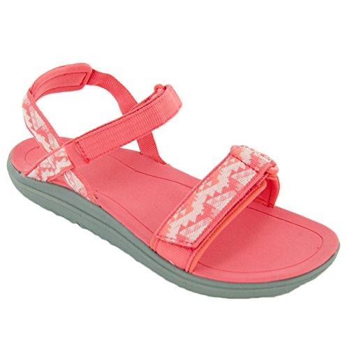 Teva Mädchen Terra-Float Nova Ys Sport Sandalen Pink (Palopo Coral)