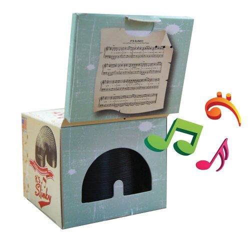 Collector's Edition Original Slinky in Singing Musical Box by Slinky Science (Image #3)