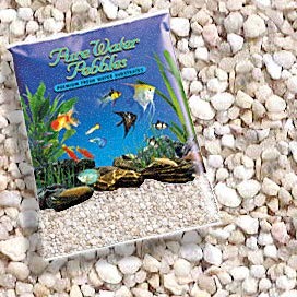 Pure Water Pebbles Nature's Ocean Aquarium Gravel Carolina River Gems Gravel 5lb Bag